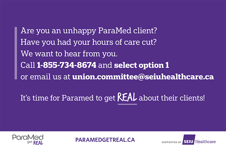 Are you unhappy ParaMed client?
